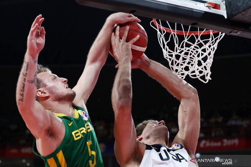 FIBA World Cup 2019: Amerika Serikat vs Brasil