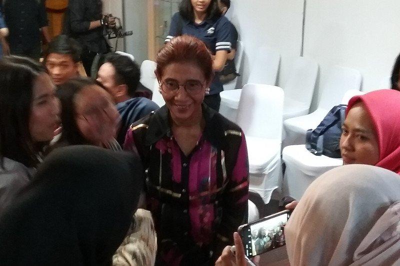 Menteri Susi: Saya hanya manusia biasa,  mohon maaf atas berbagai kesalahan
