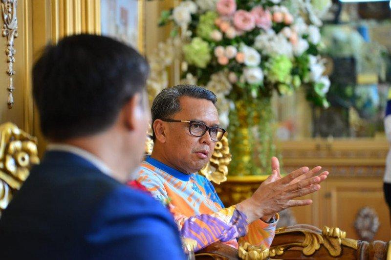 Gubernur semangati petinju Sulsel Pra PON Tinju