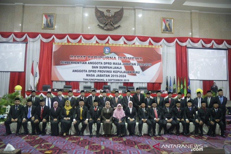 Tiga tersangka dilantik sebagai anggota DPRD Kepri