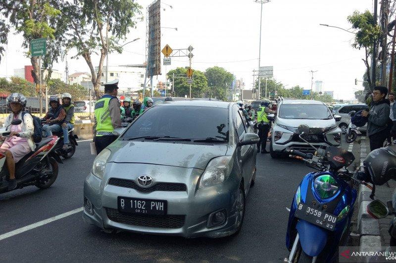 Polisi tolak suap pelanggar aturan ganjil-genap