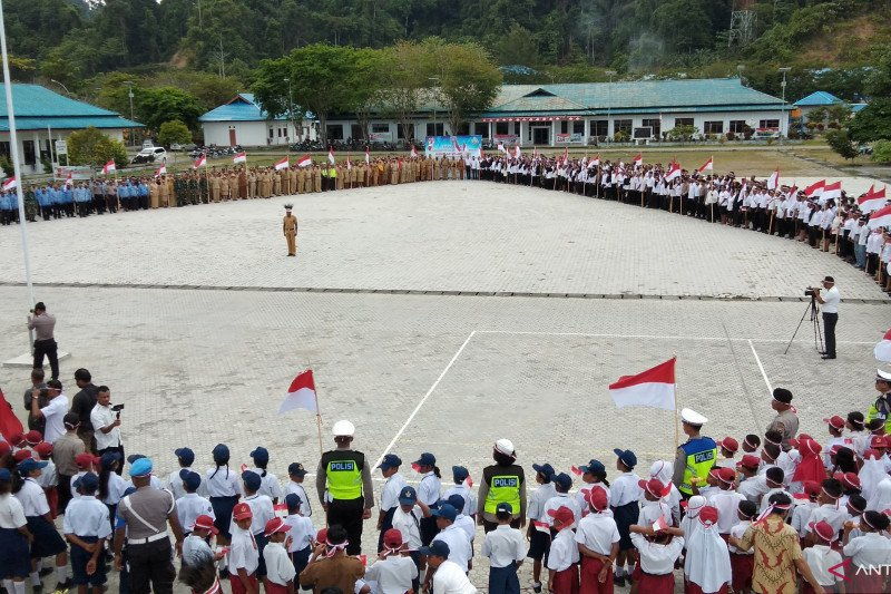 Papua Terkini- Pemerintah dan masyarakat deklarasi Raja Ampat damai