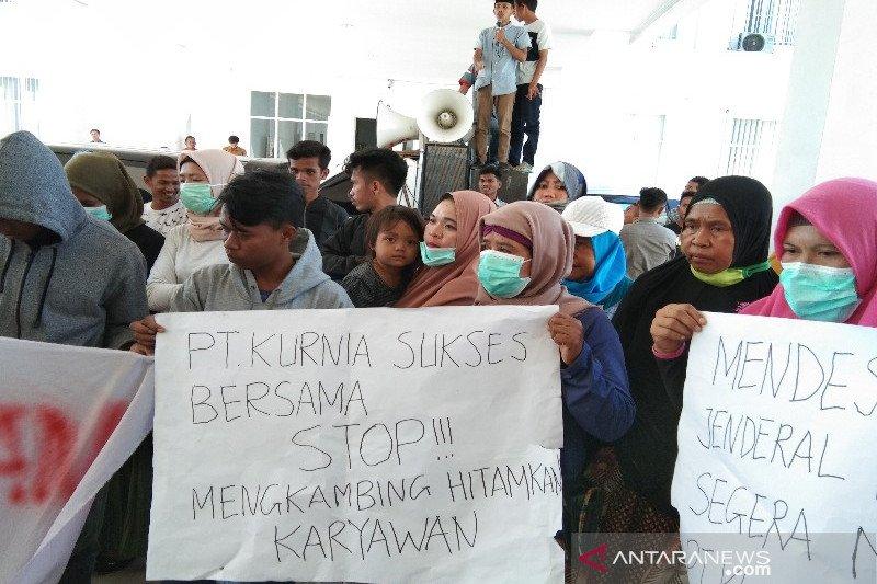 "DPW Wasindo mendesak DPRD gelar RDP terkait dugaan ""kambing hitam"" PT KSB"