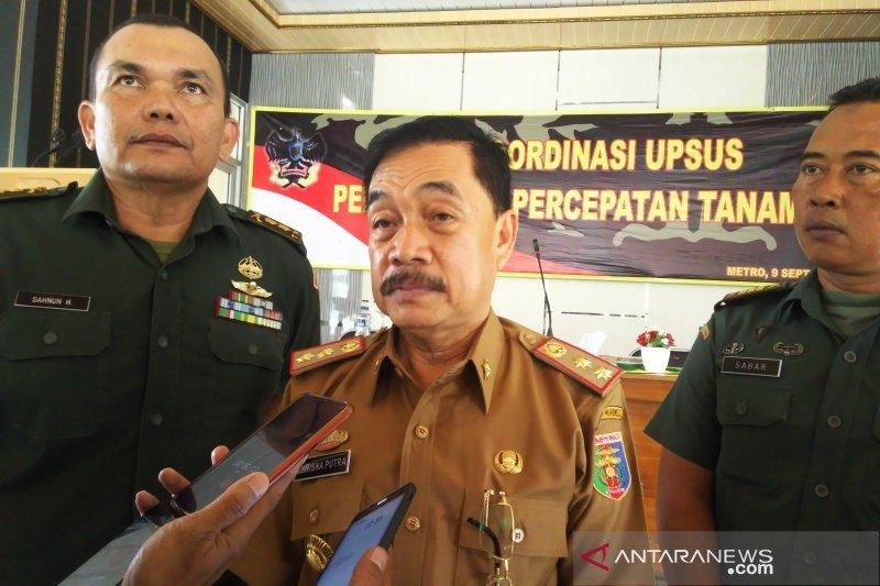 Lampung terus genjot produksi padi dengan percepatan penanaman