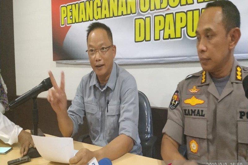 Mantan Ketua BEM Fisip Uncen berinisial FBK tersangka