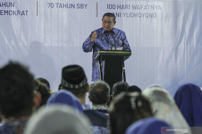 Curhatan SBY saat ulang tahun tanpa istri dan ibunda
