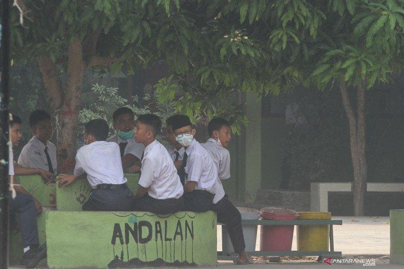 Asap makin pekat, sekolah di Siak Riau diliburkan