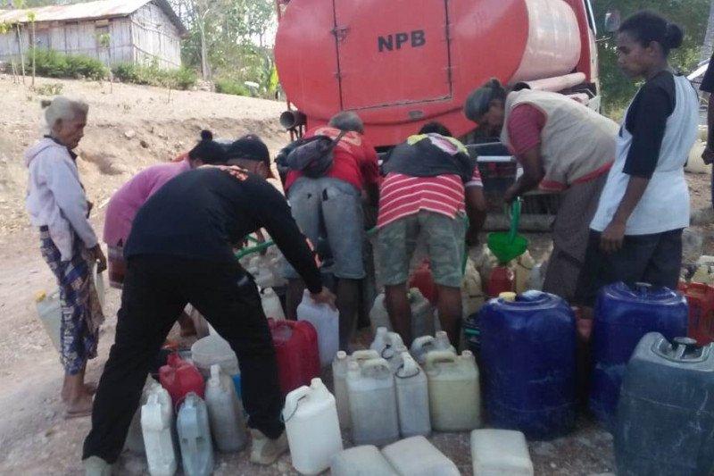 Seluruh kecamatan di Timor Tengah Selatan dilanda kekeringan