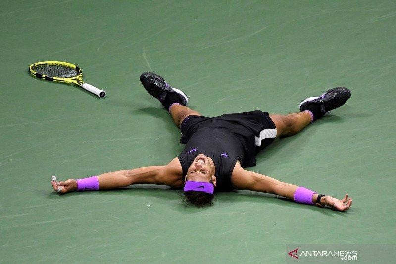 Rafael Nadal: Akhiri tahun sebagai nomor satu adalah kepuasan besar