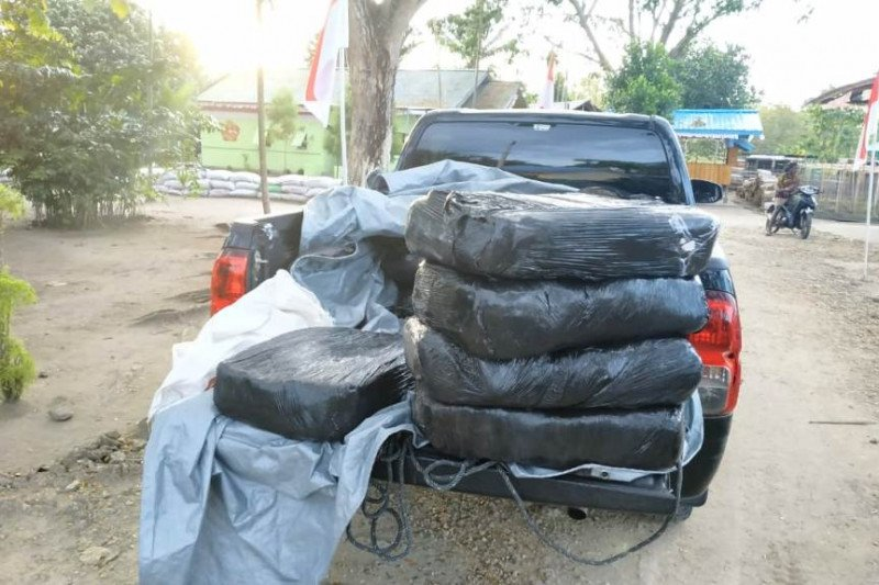 Satgas Yonif 713/ST sita 300 kg vanili tanpa dokumen di perbatasan RI-PNG