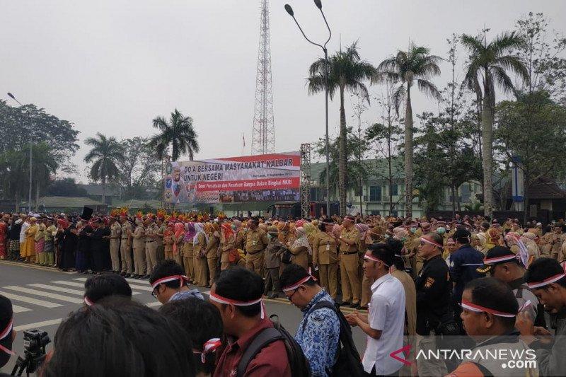 Masyarakat Kalbar gelar doa bersama untuk negeri