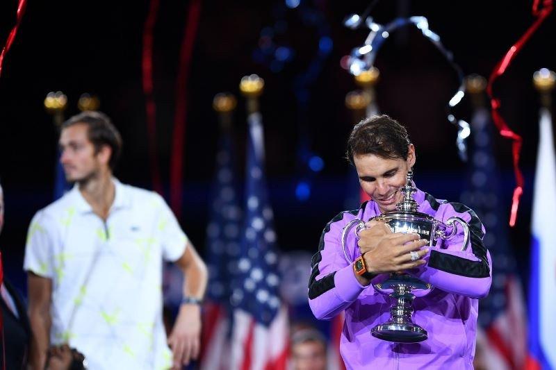 Nadal juarai US Open keempat usai kalahkan Medvedev