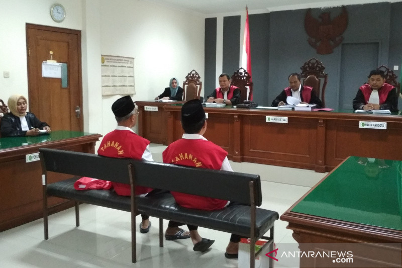 Eksepsi terdakwa penggelapan uang Yayasan UMK ditolak
