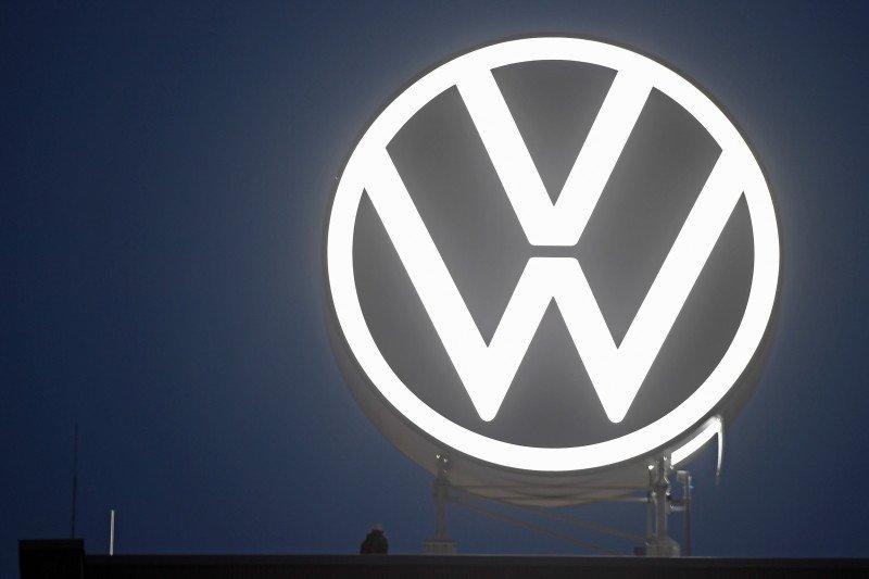 Logo terbaru VW dengan desain sederhana