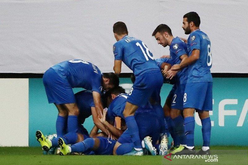 Azerbaijan pungut poin pertama, tahan seri Kroasia 1-1