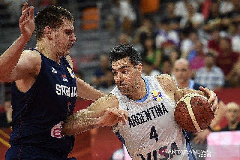 Argentina capai semifinal, singkirkan Serbia 97-87