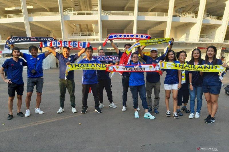 Suporter Thailand kecewa SUGBK sepi dari pendukung Indonesia