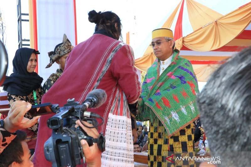 Bupati Lutim hadiri pembukaan FKN XIII Tana Luwu di Palopo