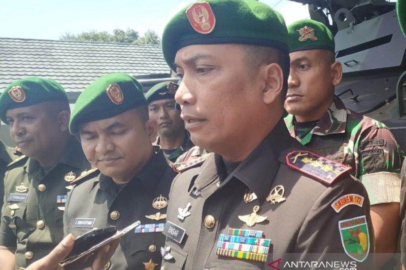 Danrem 172/PWY : Akibat demo, perbatasan RI-PNG diawasi ketat