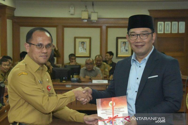 LKPPD 20 Kabupaten/Kota Jabar masuk