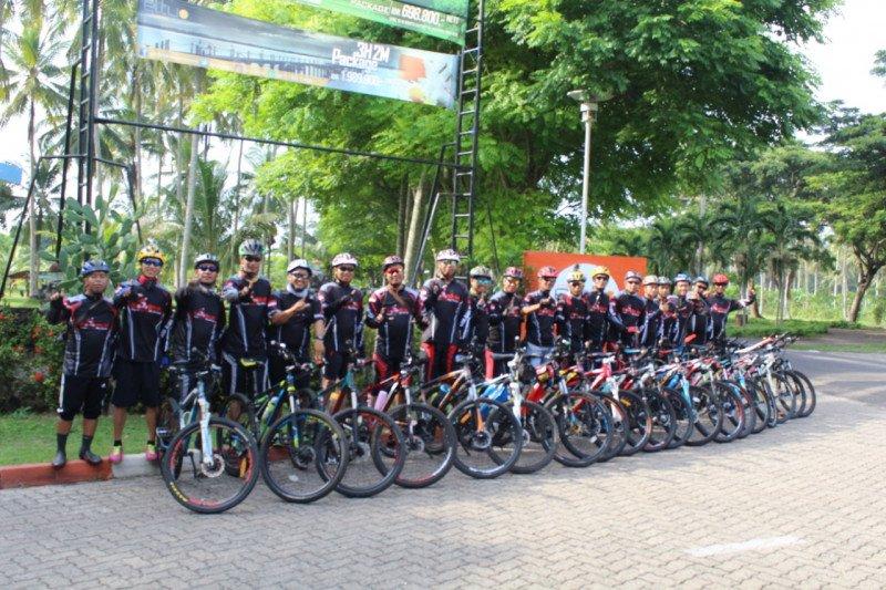 Komunitas gowes kenalkan objek wisata Lampung Selatan