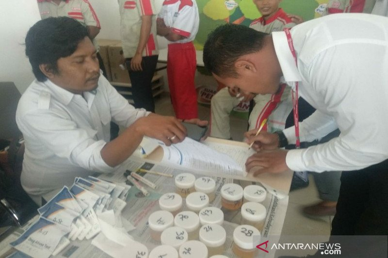 BNN Sultra tes urine karyawan PT Toyota Haji Kalla Kendari