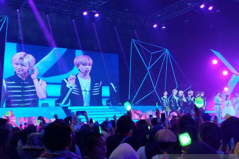 NCT Dream kecewa belum sempat cicipi makanan khas Indonesia