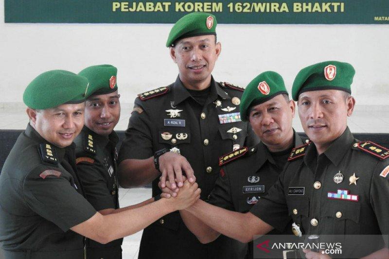 Korem 162/WB akan dijabat jenderal bintang satu