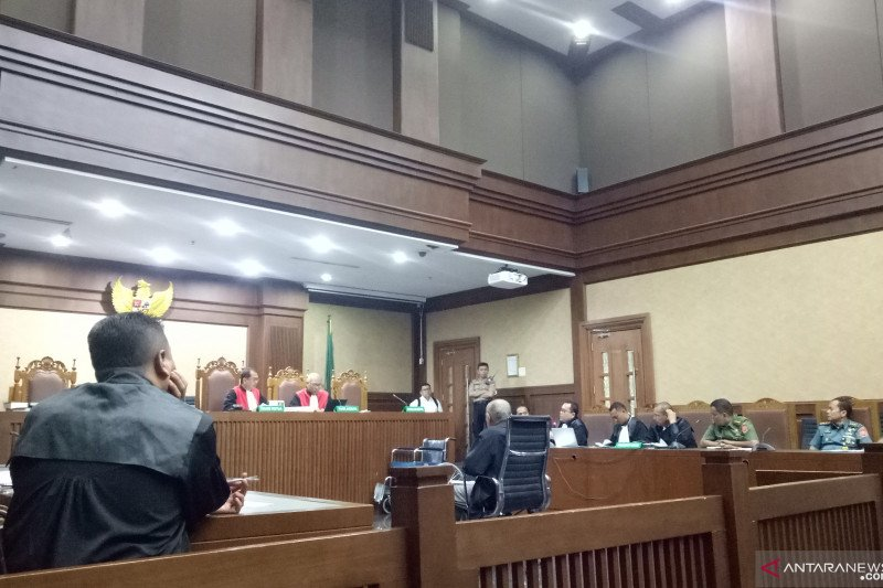 Kivlan siapkan dana Rp25 juta memata-matai Wiranto dan Luhut