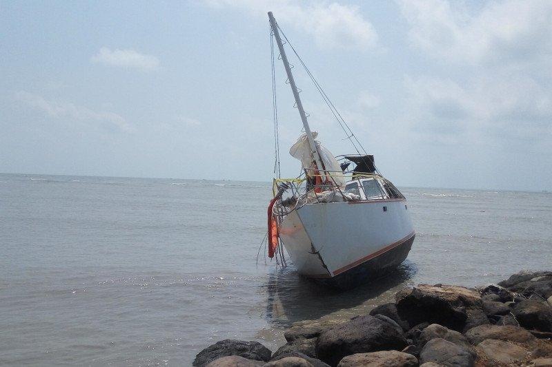 Kapal tidak berawak ditemukan di perairan Lampung Timur