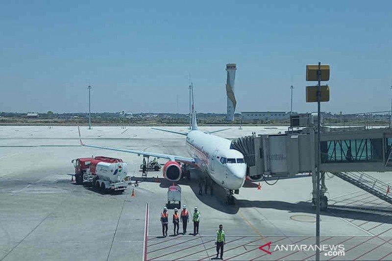 Pasokan avtur ke Bandara Kertajati baru 70 kl per hari