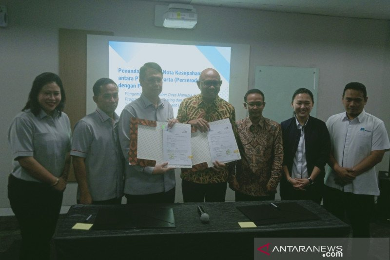 MRT Jakarta-KCIC kerja sama pengembangan SDM