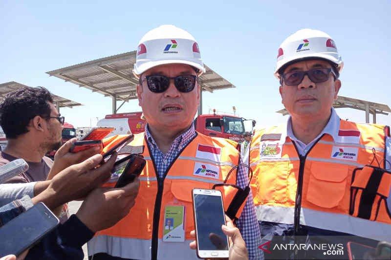 Pertamina bangun Depot di Bandara Kertajati kapasitas 450 kiloliter