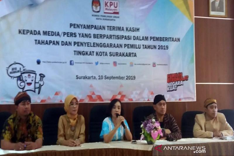 Anggaran Pemilihan Wali Kota Surakarta dicairkan awal Oktober