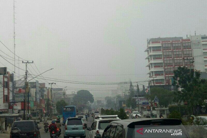 BMKG: Asap mulai  dominasi cuaca di Kota Palembang