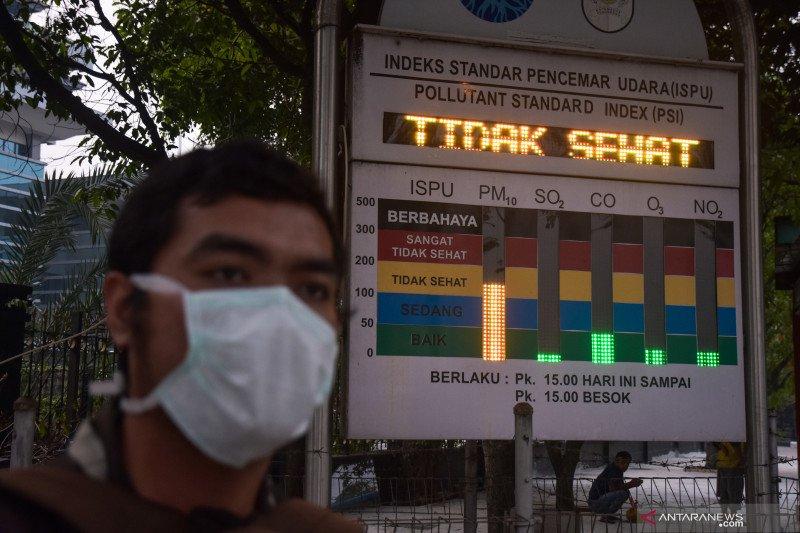 Karhutla Riau - Permintaan masker naik tajam, apotek kehabisan stok