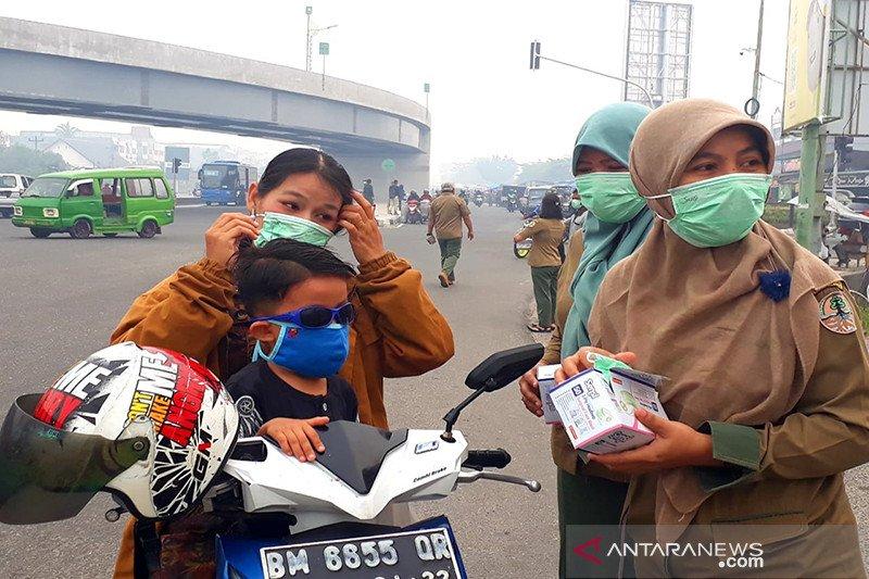 Gubernur Riau perintahkan buat posko kesehatan antisipasi kabut asap