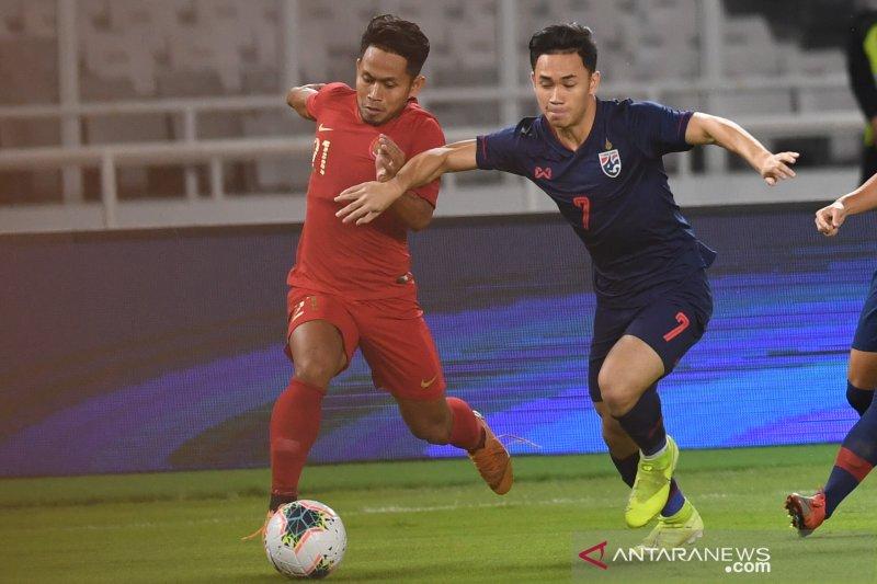 Babak pertama Indonesia diimbangi Thailand 0-0