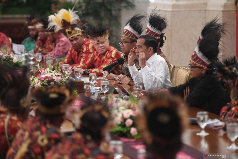Presiden kabulkan 10 permintaan tokoh Papua diantaranya dibangun  istana Presiden
