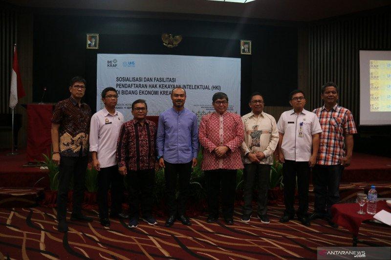 Bekraf-UNS fasilitasi pendaftaran HKI UMKM Sulut