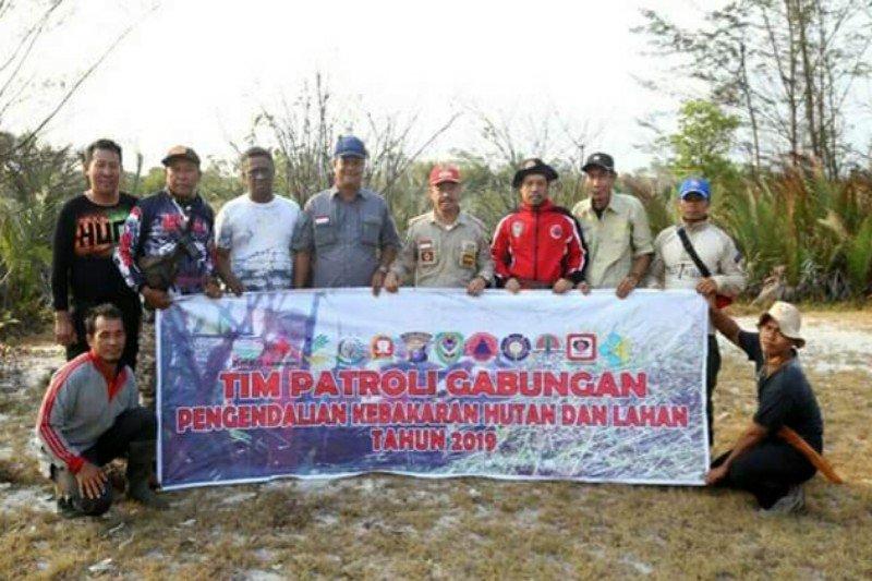 Bupati Seruyan pantau titik api di kawasan TNTP