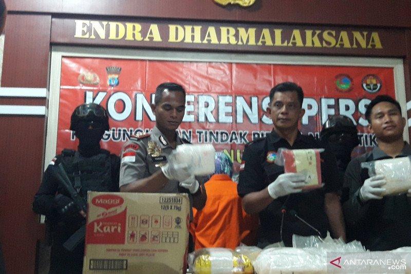 20 kg sabu-sabu dari Malaysia diamankan di Nunukan