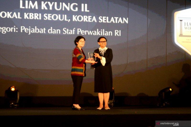 Dua warga asing terima Hassan Wirajuda Award 2019