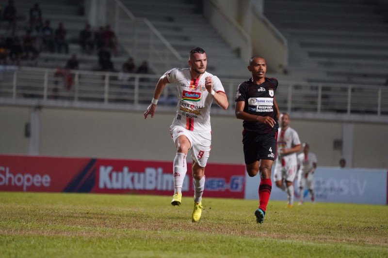 Persija Jakarta menyerah atas Persipura 0-2