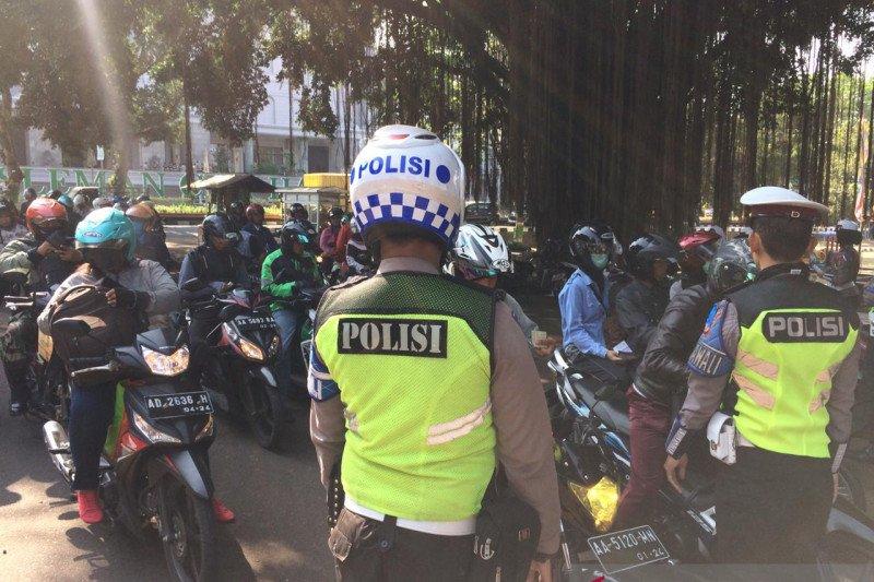 Polisi mengeluarkan 11 ribu tilang dalam operasi Patuh Progo di Sleman