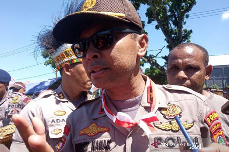 Papua Terkini- 18 SSK Brimob masih bersiaga di Papua Barat
