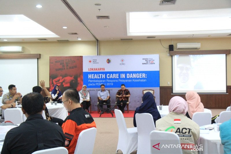 PMI dan ICRC gelar lokakarya Health Care in Danger
