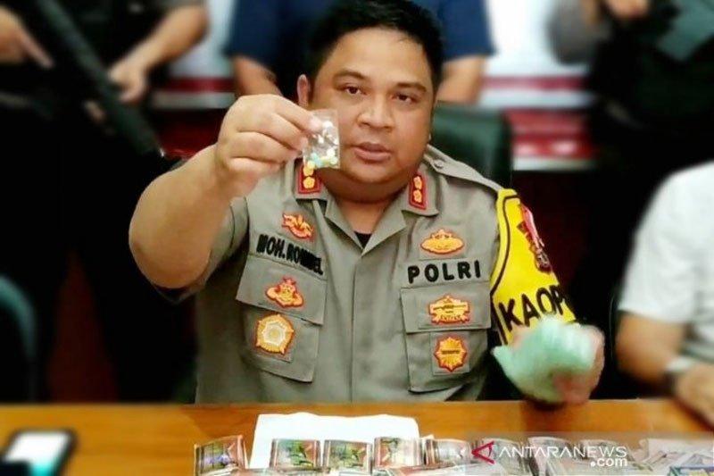 Polres Kotim gagalkan peredaran puluhan ribu bungkus obat ilegal