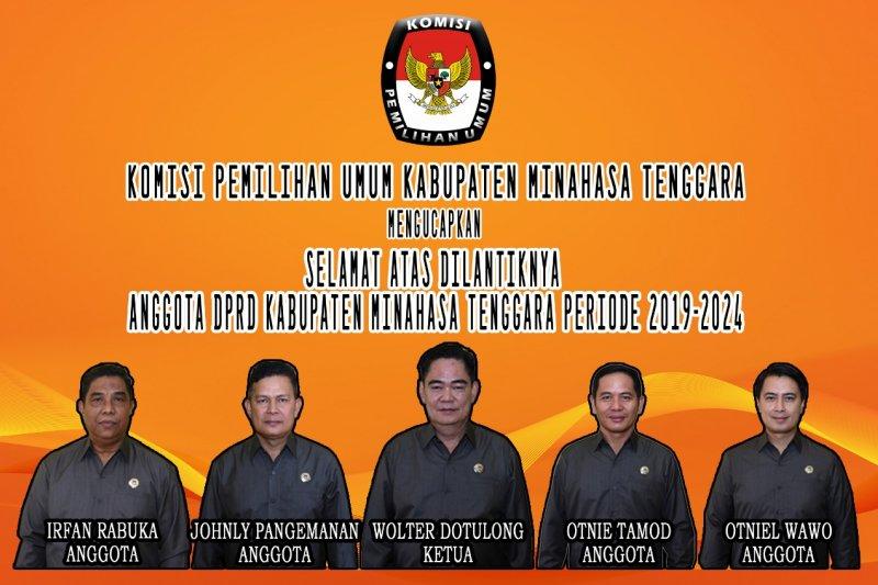 KPU Mitra ucapkan selamat atas pelantikan DPRD periode 2019-2024