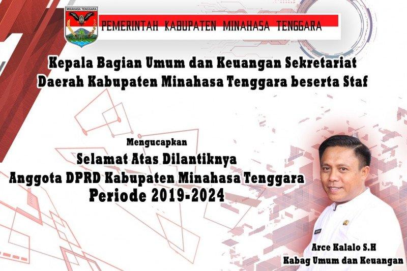 Kabag Umum dan Keuangan Mengucapkan Selamat Atas Dilantiknya Anggota DPRD Kabupaten Mitra